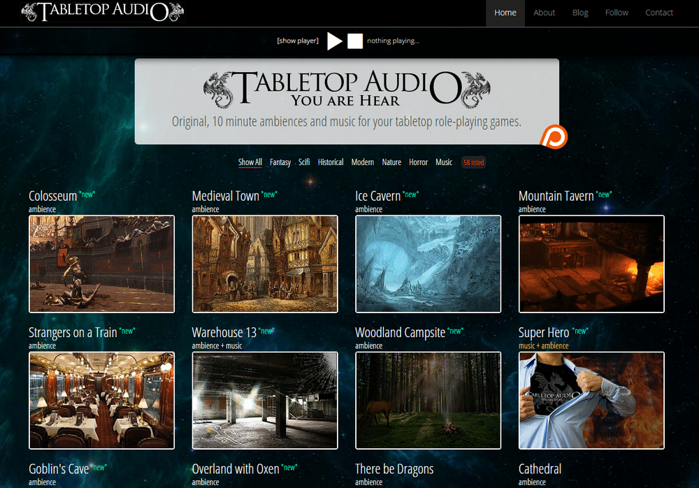 tabletopaudio